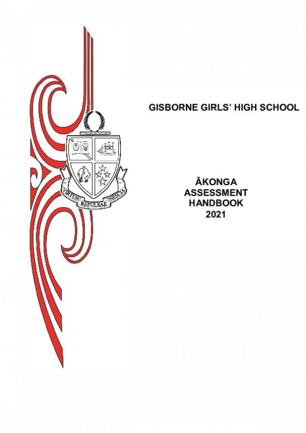 Student Assessment Handbook 2021